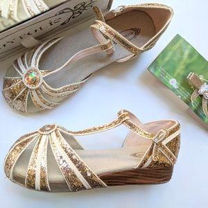 Joyfolie Girls Youth Hazel Shoes In Gold 6
